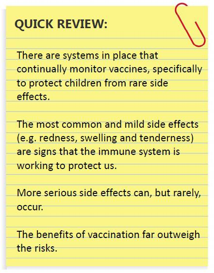 Immunology 101 Series: Why Mild Vaccine Side Effects Are a
