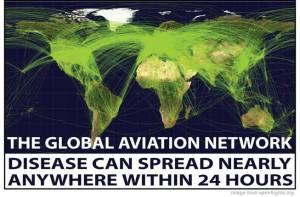 CDC flight map